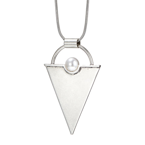 The Aphrodite Pendant by Jenny Bird in Silver