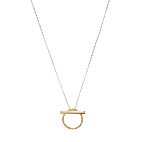 Rhye Pendant by Jenny Bird in Two-Tone