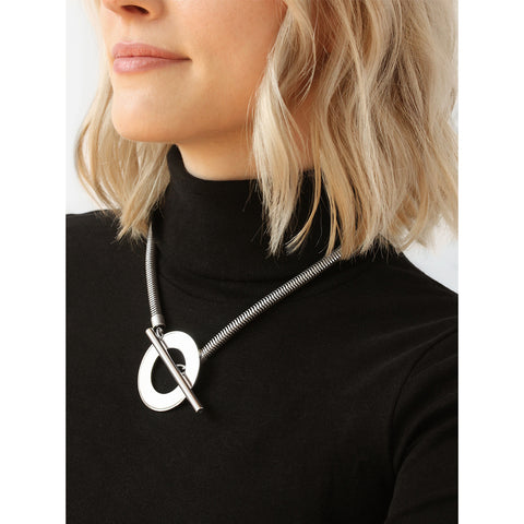 Rhye Collar by Jenny Bird in Silver