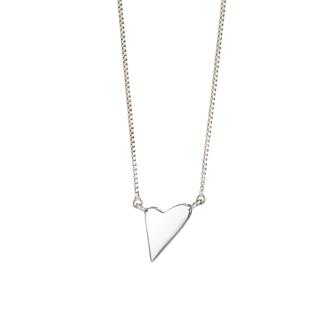 Lovestruck Pendant Necklace by Jenny Bird in Silver