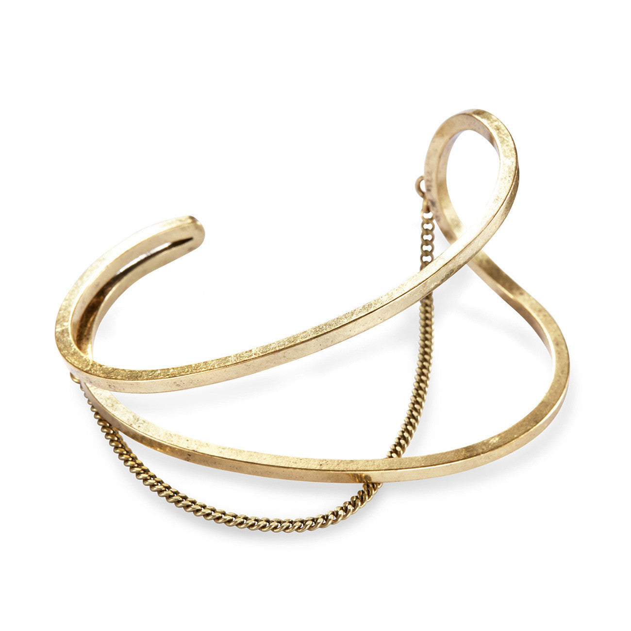 River Cuff in Gold Ox by Jenny Bird