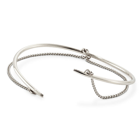Rill Cuff By Jenny Bird in High Polish Silver