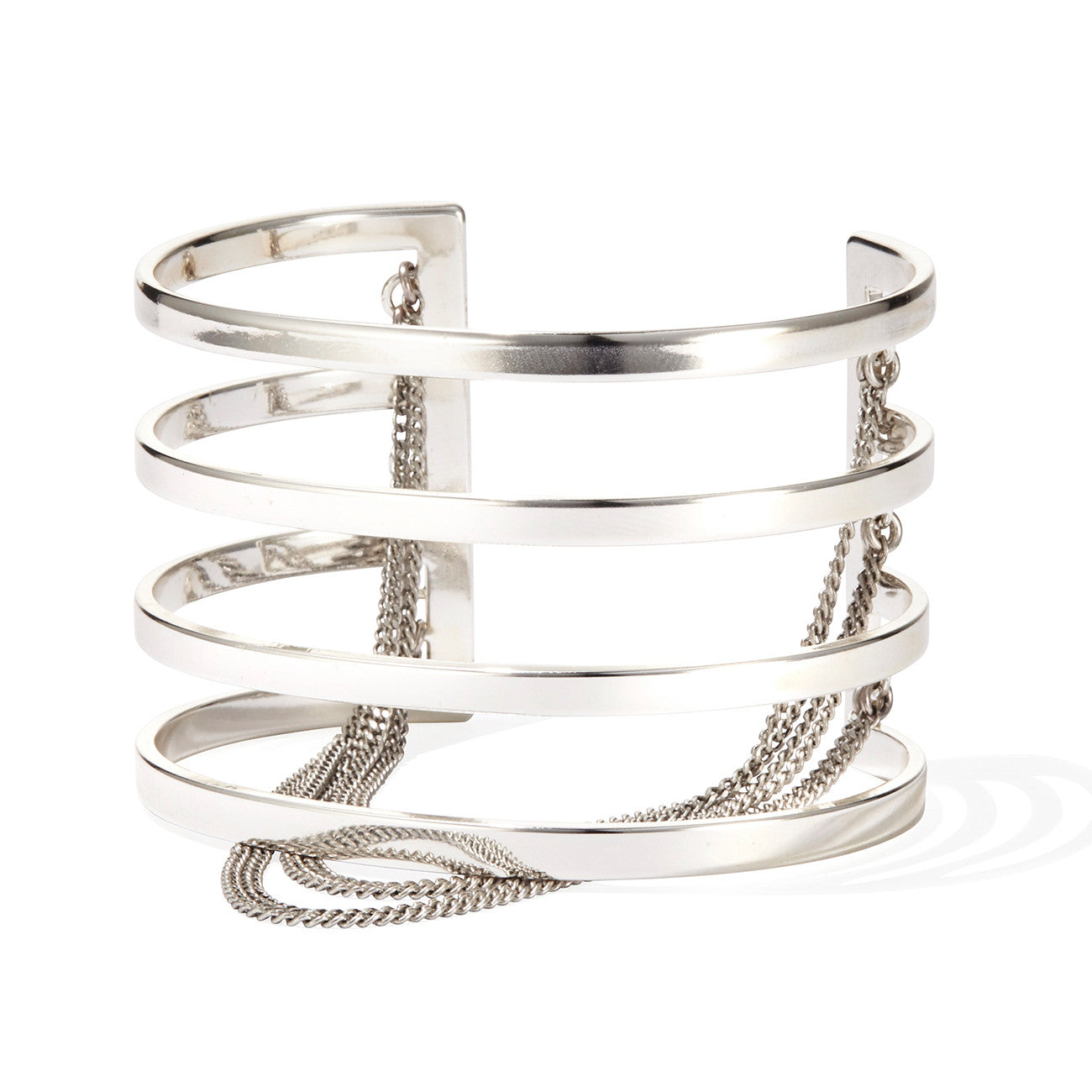 Series Cuff by Jenny Bird in Silver