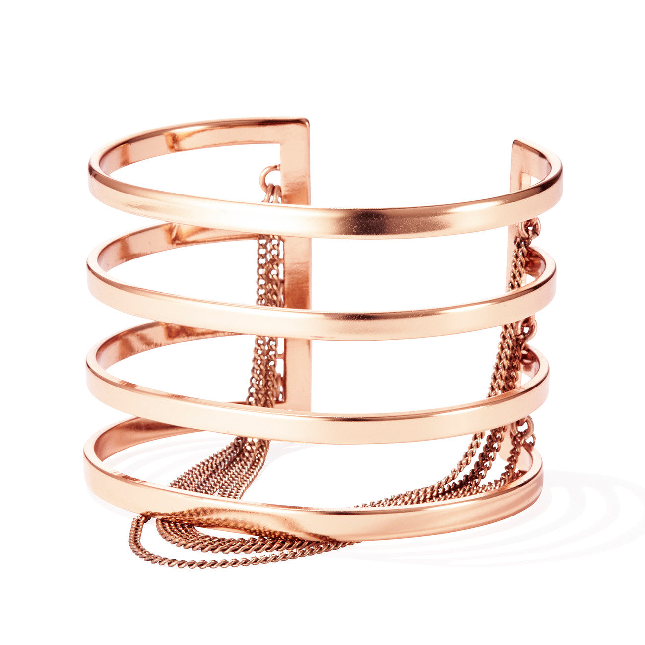 Series Cuff by Jenny Bird in Rose Gold