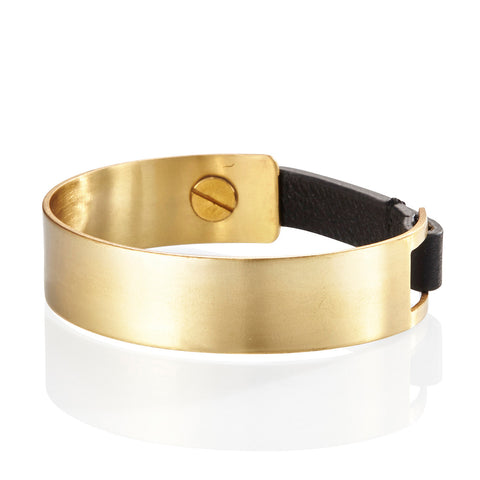 The Jane Cuff by Jenny Bird in Gold Ox