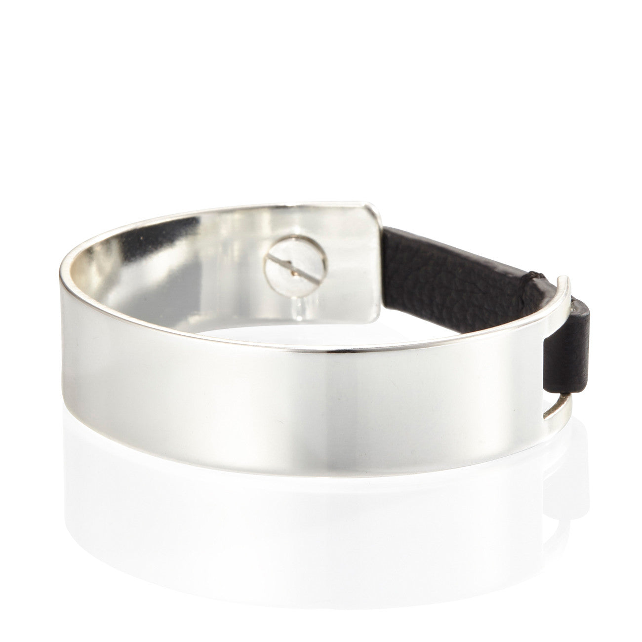 The Jane Cuff by Jenny Bird in High Polish Silver