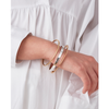 Gold and Silver Cober Stack stackable multi-pack of bangles and bracelet by JENNY BIRD