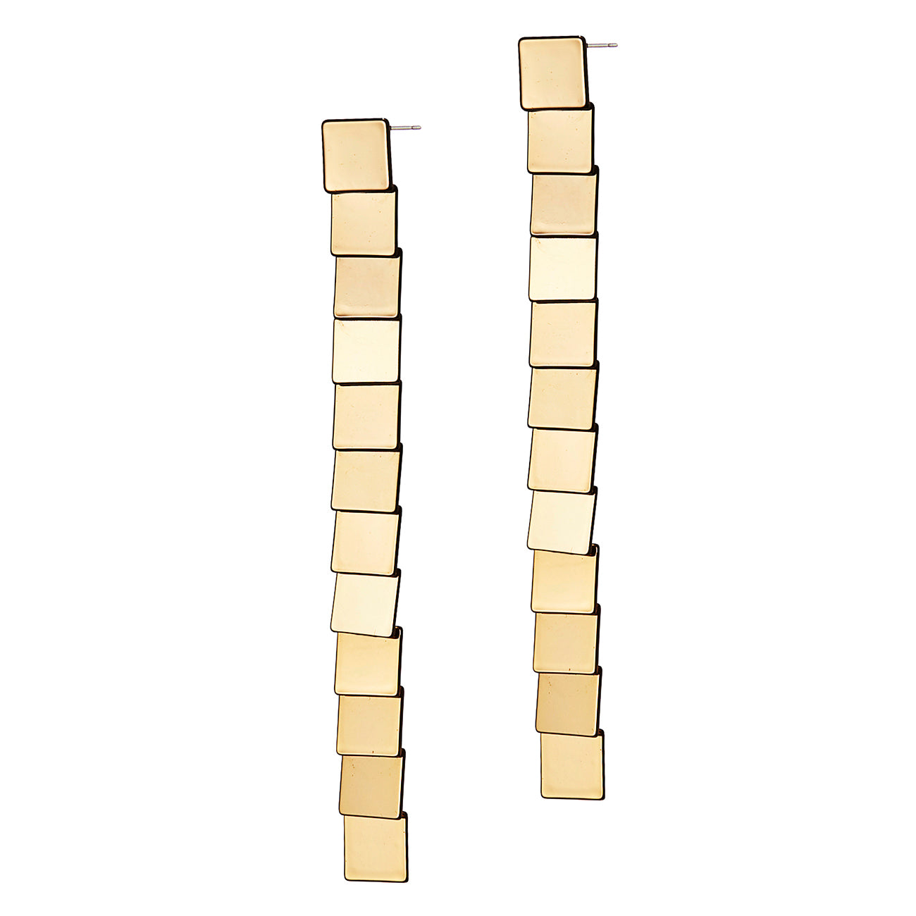 Casita Earrings by Jenny Bird in Gold