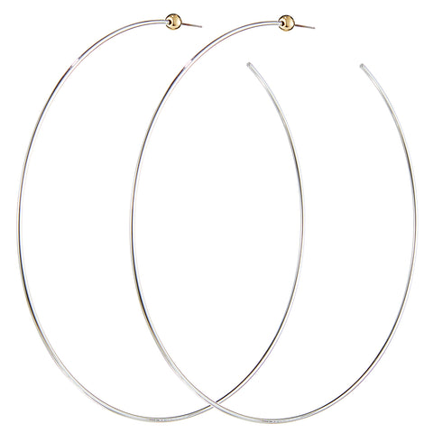 Icon Hoops XL by Jenny Bird in Two-Tone