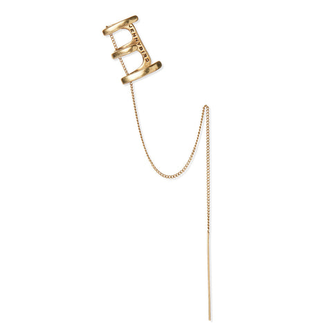 ILLA Ear Cuff in Gold by Jenny Bird