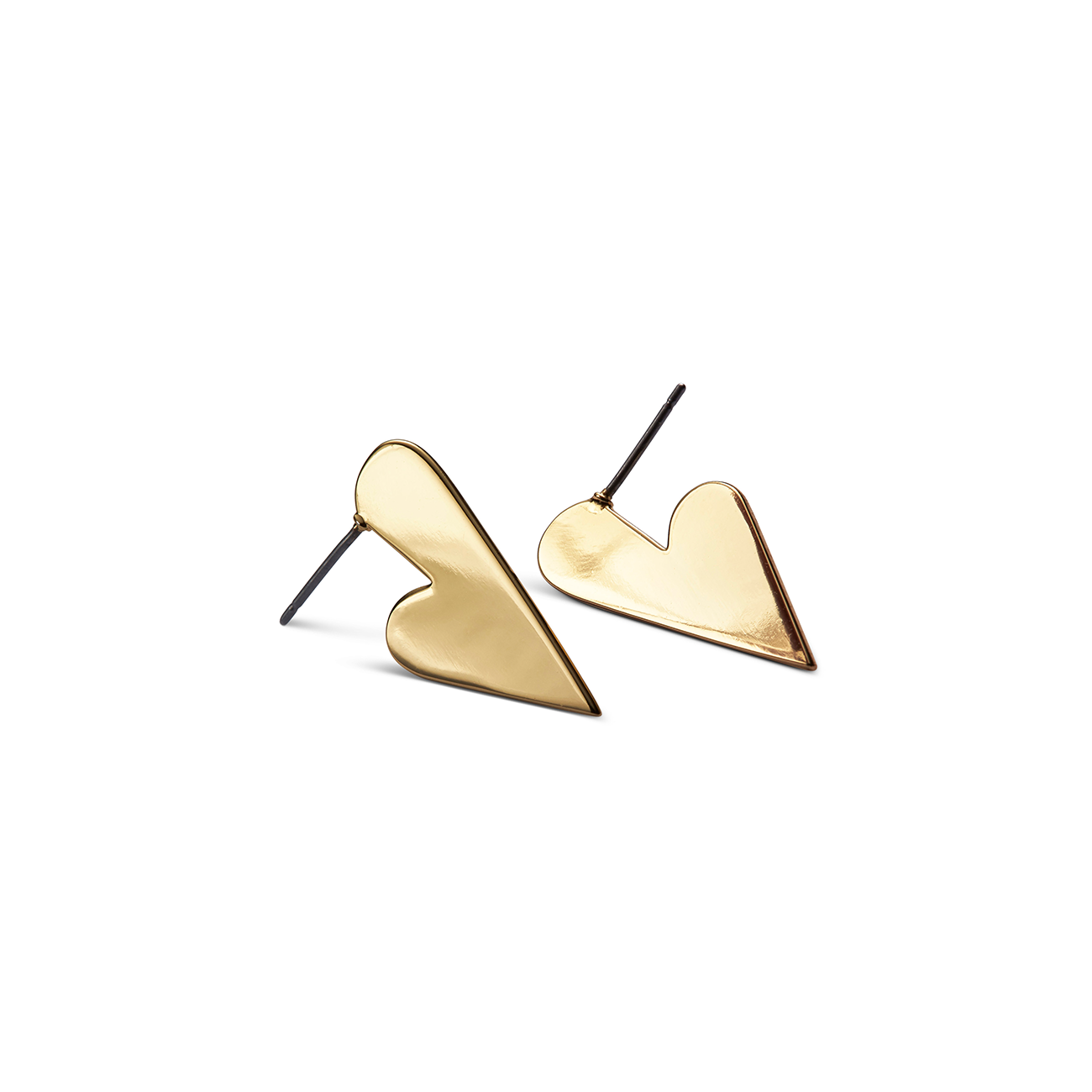 Lovestruck Earrings by Jenny Bird in Gold