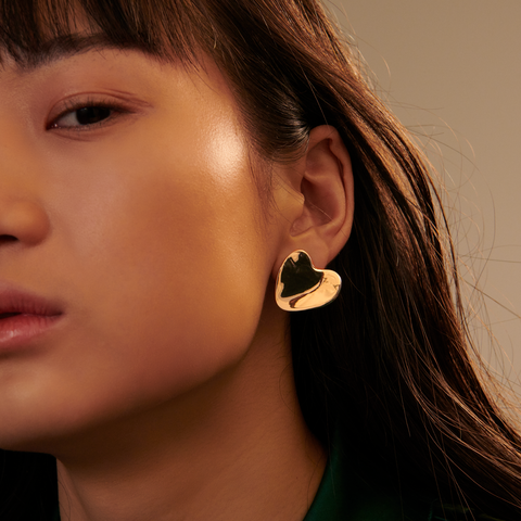 Clip On Ophelia Earrings