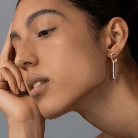 Stevie Link Drop Earrings