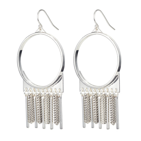 Jenny Bird Reigning Sun Earrings in Silver