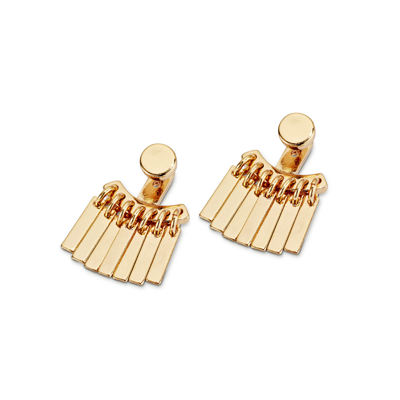 Raya Ear Jackets by Jenny Bird in Gold