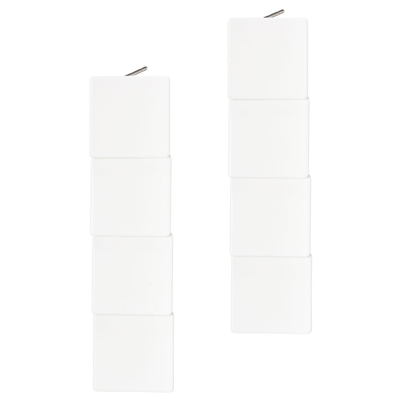 Long Beach House Earrings by Jenny Bird in White