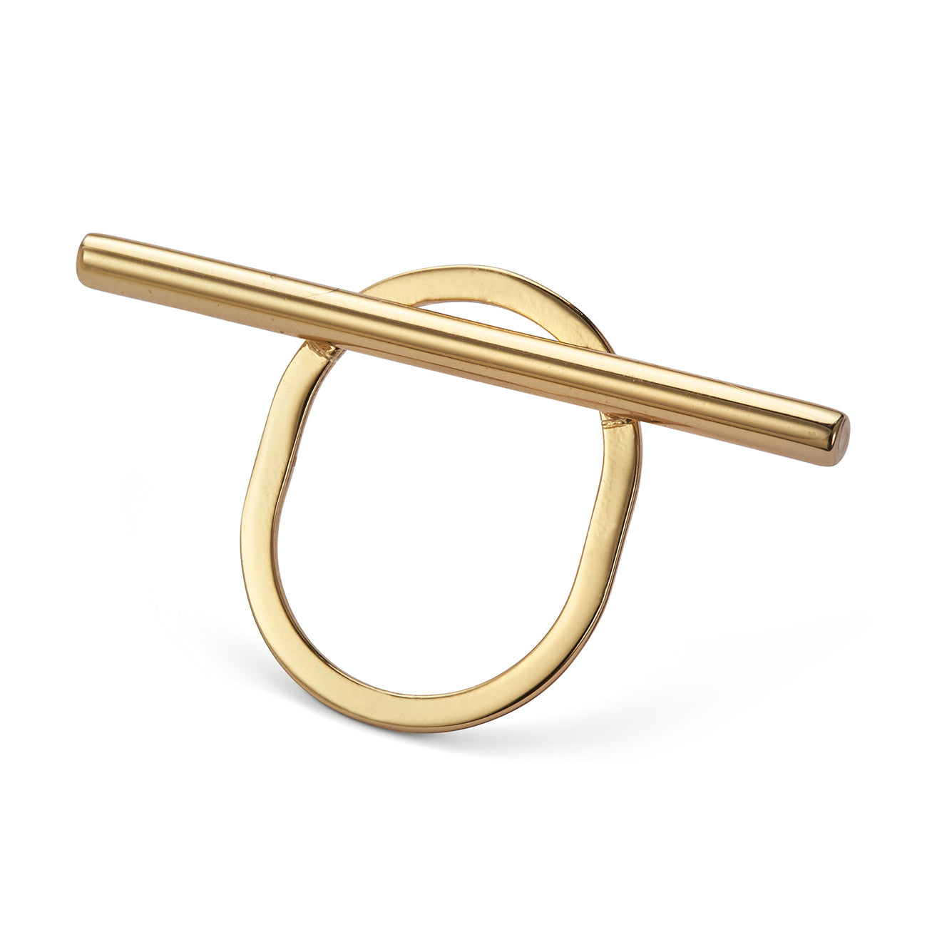 Trust Ring by Jenny Bird in Gold