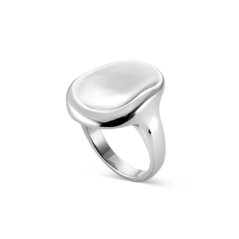 Silver natural shaped Mithras Ring by JENNY BIRD