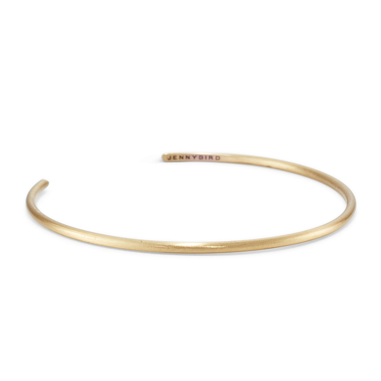 Gleds Arm Cuff by Jenny Bird in Gold