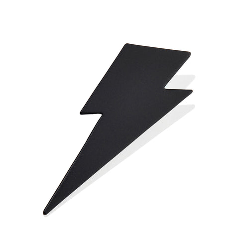 The Thunder Struck Pin by Jenny Bird in Matte Black