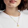 Crack Me Up Charm & Elli Chain Necklace