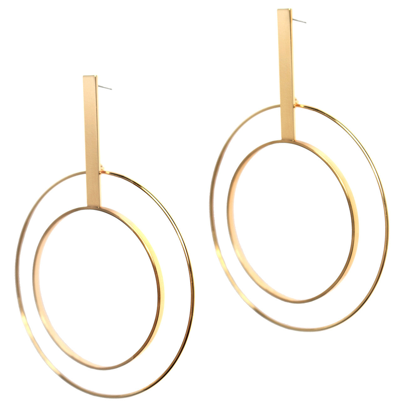 Bo Hoops by Jenny Bird in High Polish Gold