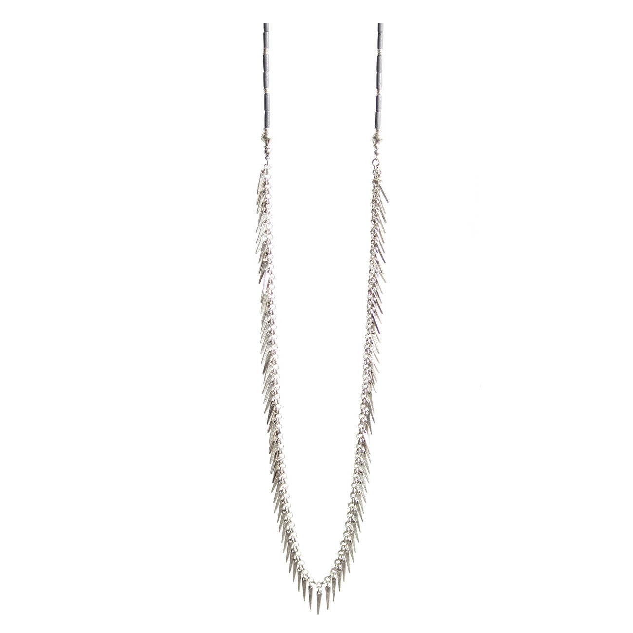Jenny Bird Palm Rope in Silver