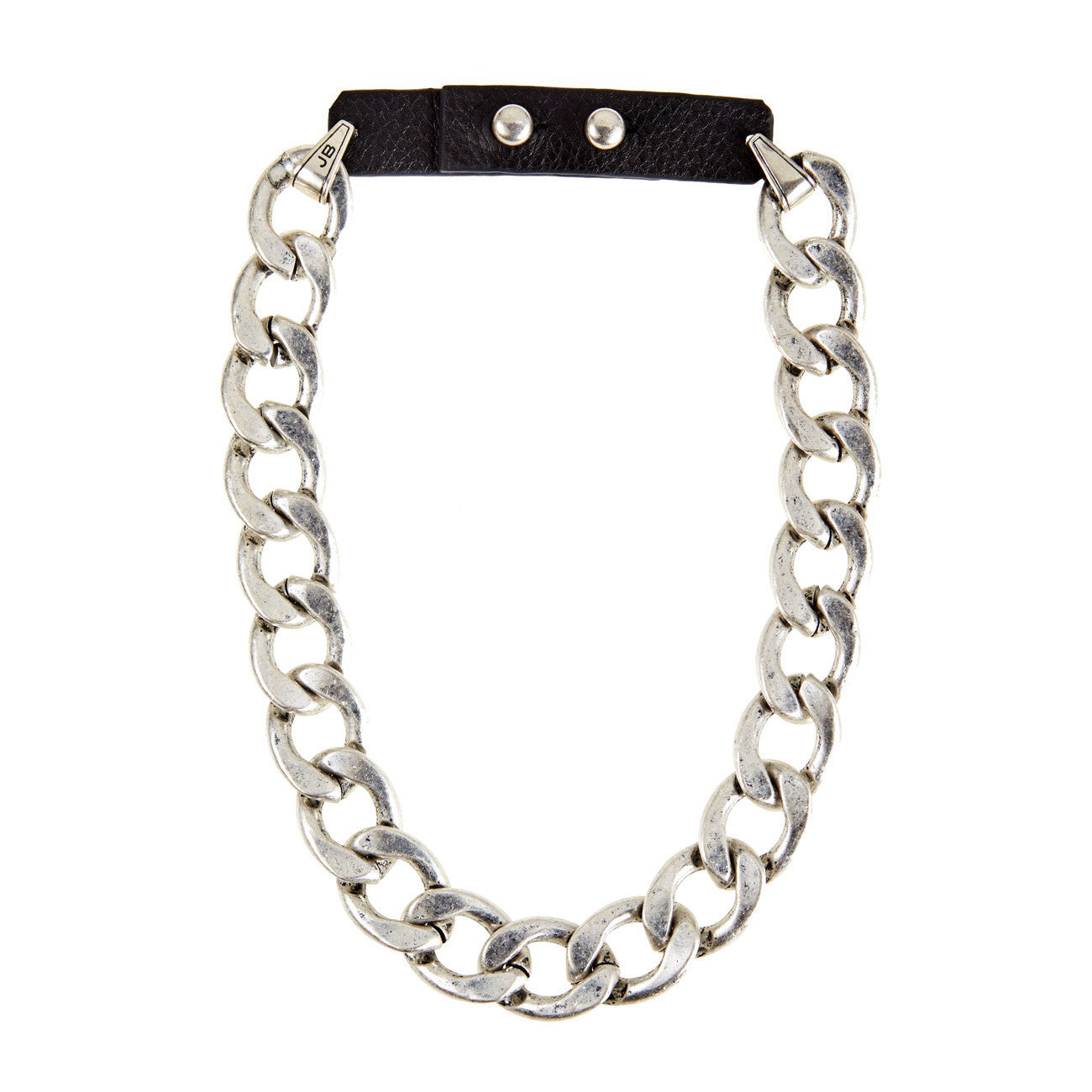 RiRi Collar in Silver by Jenny Bird