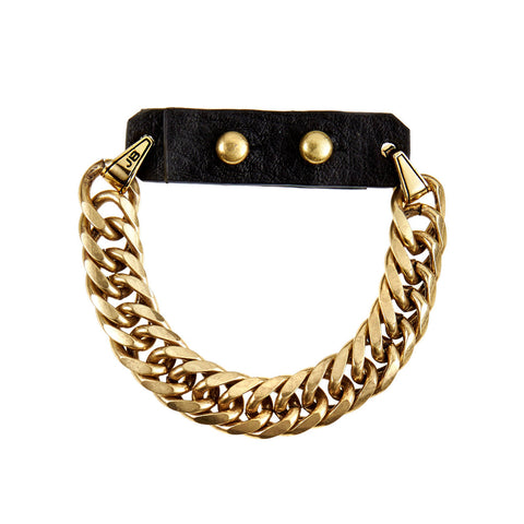Gold Chain Bracelet - Hustle and Flow Bracelet by Jenny Bird