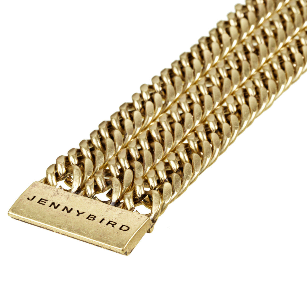 Always Hustlin' Bracelet in Gold by Jenny Bird