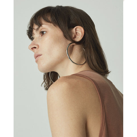 The large Lola Hoops by Jenny Bird in Two-Tone