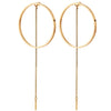 Jenny Bird Rhine Hoops in High Polish Gold