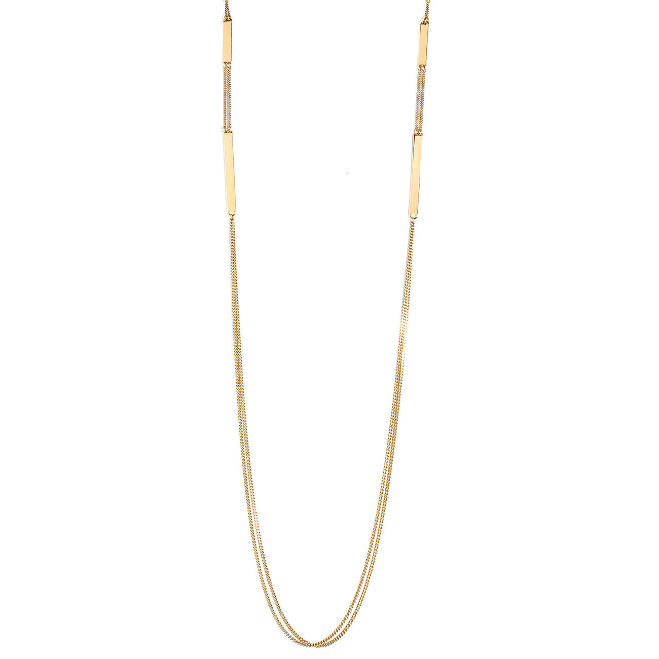 Jenny Bird Zenith Chain Necklace in High Polish Gold