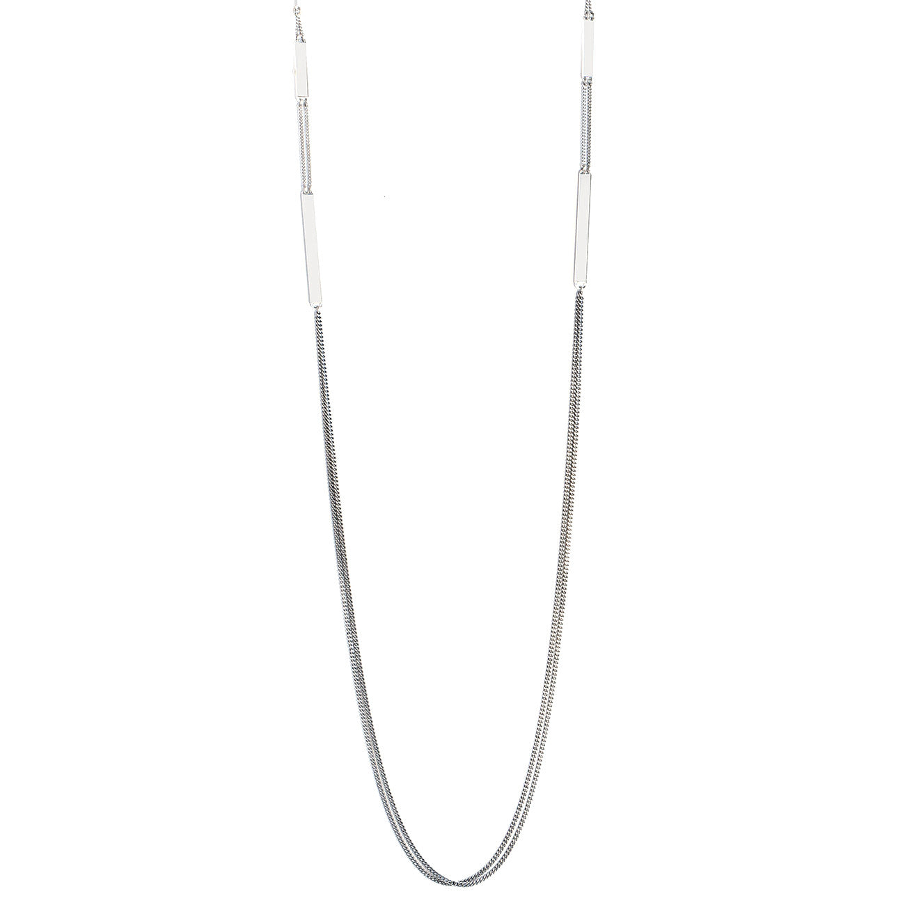 Jenny Bird Zenith Chain Necklace in High Polish Silver