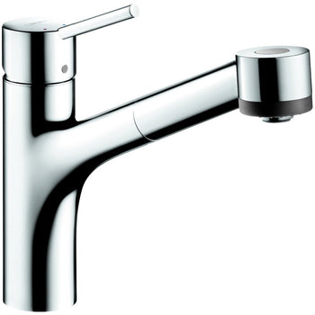 Hansgrohe 06462000 Talis S Single Hole Kitchen, Pull-Out, Chrome - Wholesale Home Improvement Products