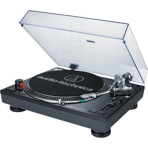 Audio-Technica Consumer Direct Drive Professional DJ Turntable with USB Output Direct AT-LP120BK-USB Black - Wholesale Home Improvement Products