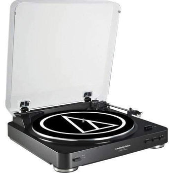 Audio-Technica Consumer AT-LP60 Fully Automatic Belt-Drive Turntable - Wholesale Home Improvement Products