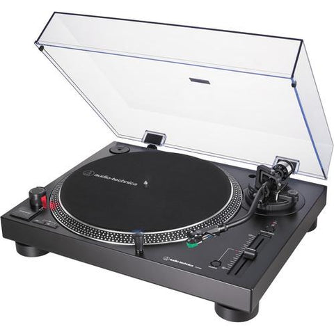 Audio-Technica AT-LP120XUSB-BK Direct-Drive Turntable (Black) - Wholesale Home Improvement Products