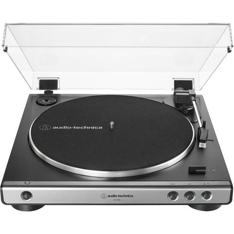 Audio-Technica Consumer AT-LP60X Stereo Turntable (Gunmetal & Black) - Wholesale Home Improvement Products