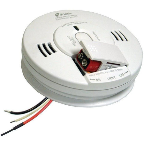 Kidde KN-COPE-I Carbon Monoxide & Smoke Detector, 120V Photoelectric Hardwired Talking w/Battery Backup (21007624) - Wholesale Home Improvement Products