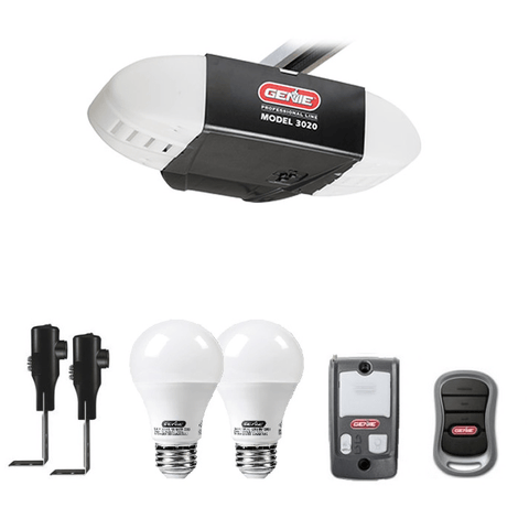 Genie ReliaG Pro Series Model 3020H Garage Door Opener, With Genie Led Bulb - Wholesale Home Improvement Products