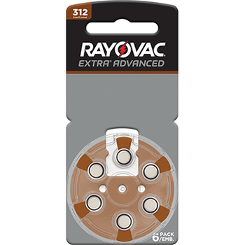 Rayovac Size 312 Hearing Aid Battery