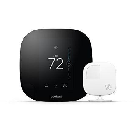 Ecobee - Ecobee3 Wi-Fi Thermostat with Sensor
