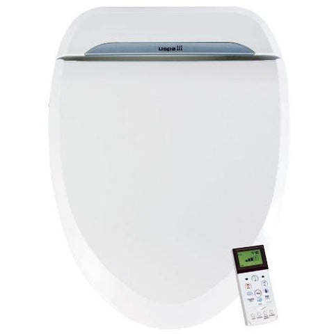 BioBidet - USPA 6800 Adjustable Bidet Toilet Seat with Wireless Remote