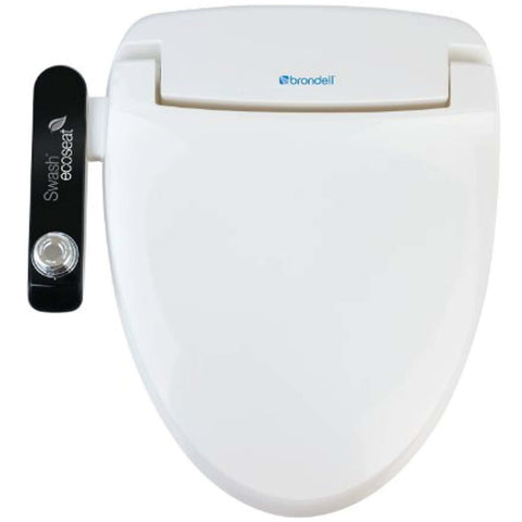 Brondell S100-EW Swash Ecoseat 100 Bidet Elongated Toilet Seat - White - Wholesale Home Improvement Products