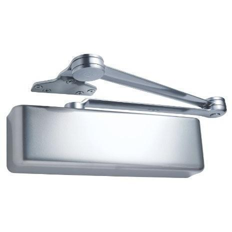 LCN 4040 Heavy Duty Door Closer - Aluminum Powder Coat Finished - Regular Arm with Parallel Arm Shoe