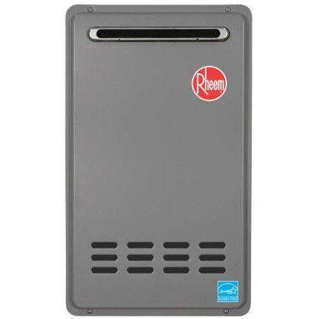 Rheem - RTG-64XLN 6.4 GPM Outdoor Tankless Natural Gas Water heater