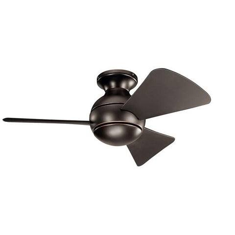 "Kichler - Sola LED 34"" Fan Olde Bronze - Wholesale Home Improvement Products"