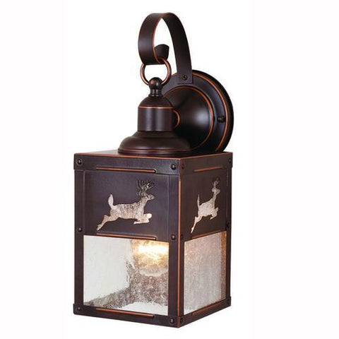 Vaxcel - OW33553BBZ Yellowstone - One Light Outdoor Wall Light
