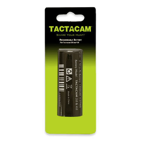 Tactacam Replacement Battery 5.0, 4.0 and Solo Cameras - Wholesale Home Improvement Products